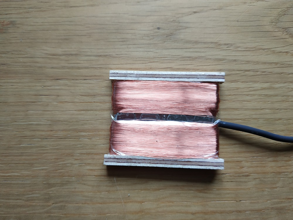 4 String Alpen Humbucker Nickel