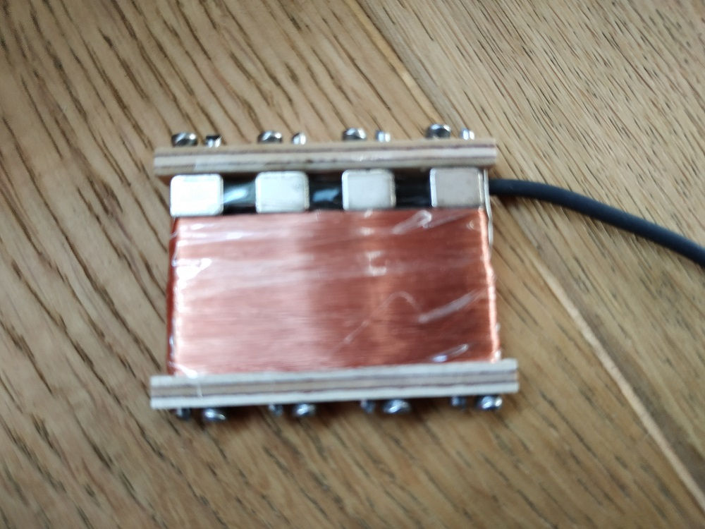 nagel single coil 4 string quader