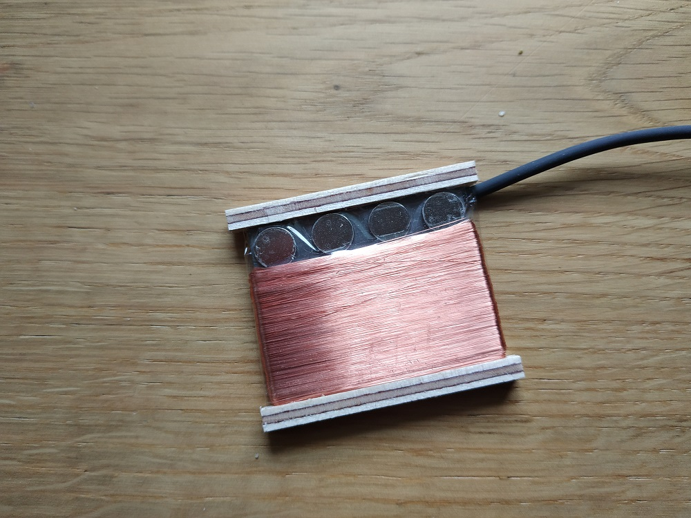 Alpen Single-Coil für die Cigarbox Guitar