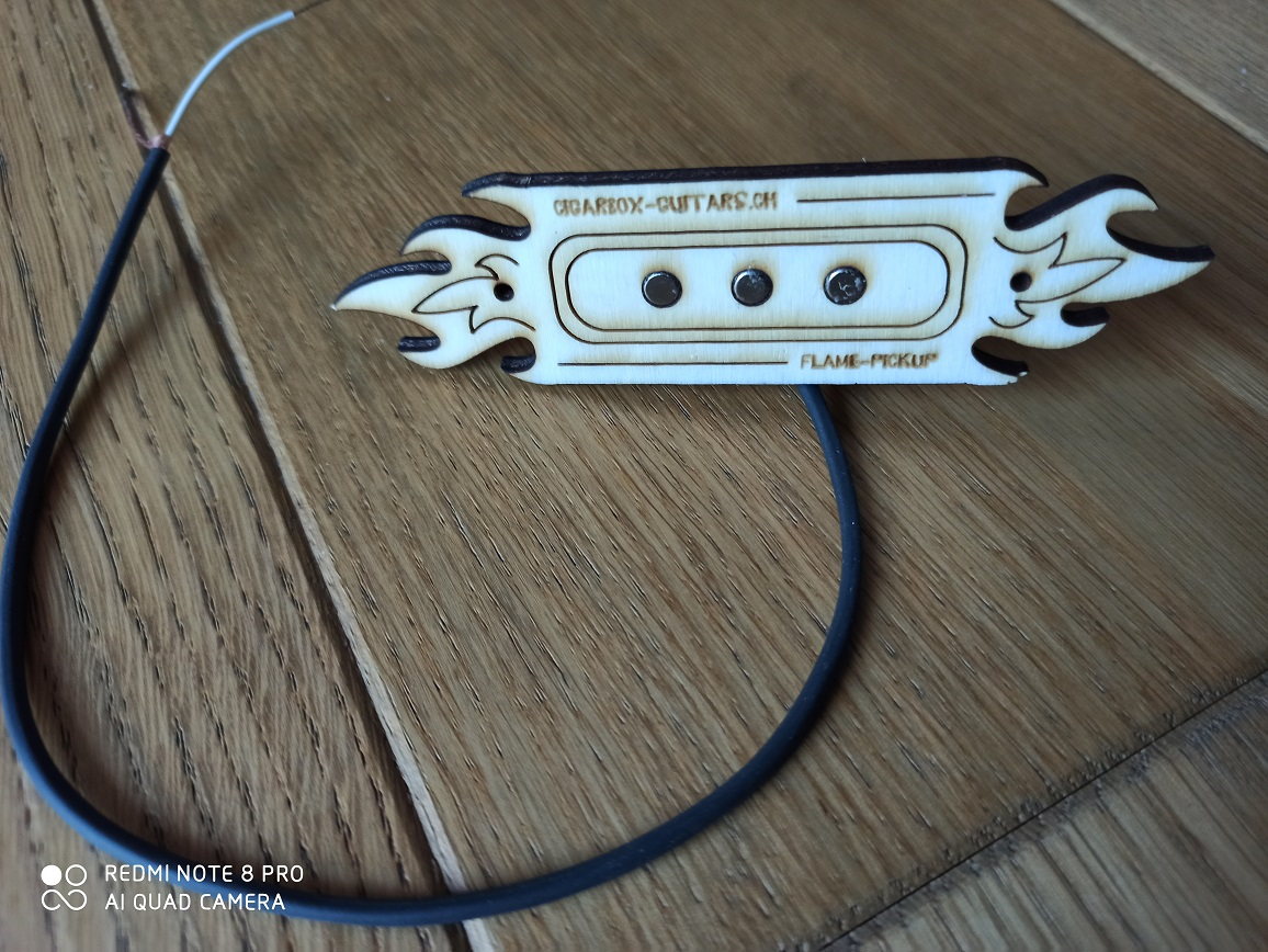 Flame Pickup 3-String Single-Coil