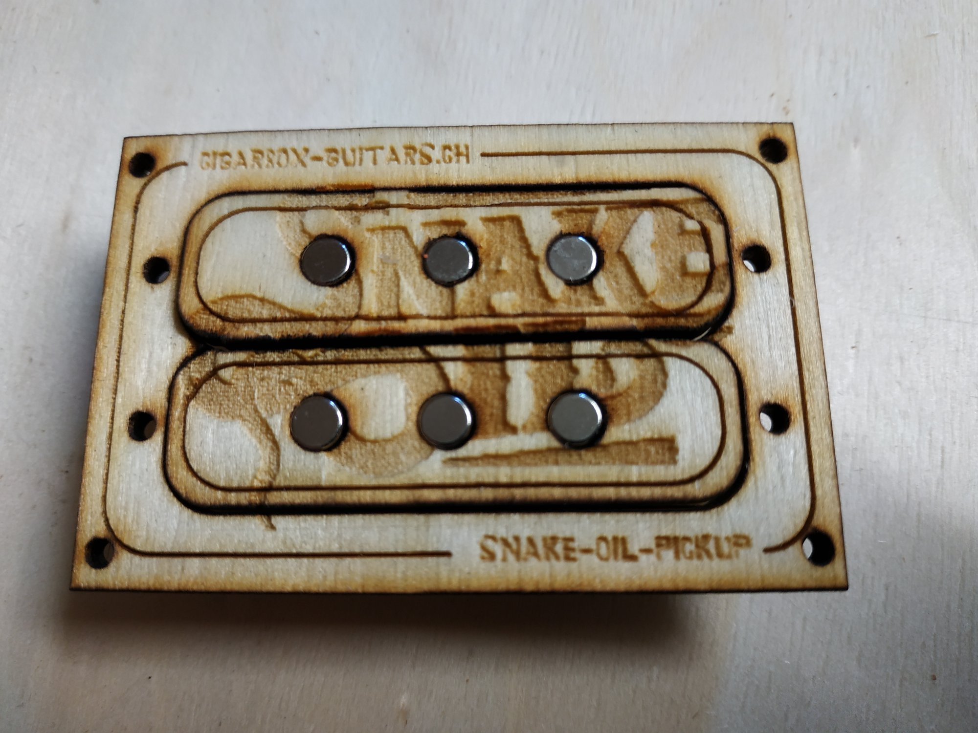 Snake Oil Pickup 3-String Humbucker