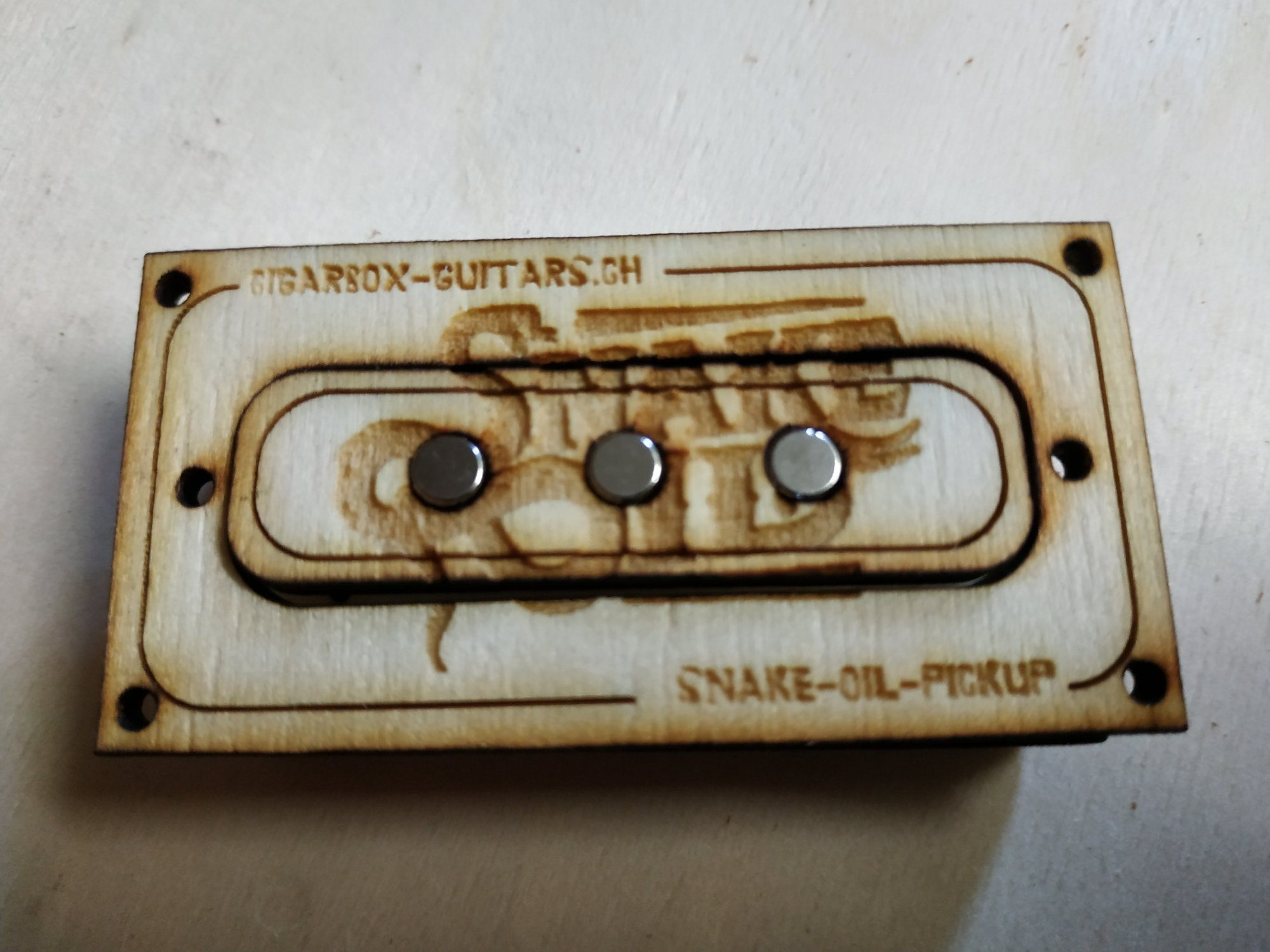 Snake Oil Pickup 3-String Single-Coil